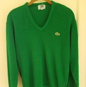 LACOSTE/IZOD green sweater